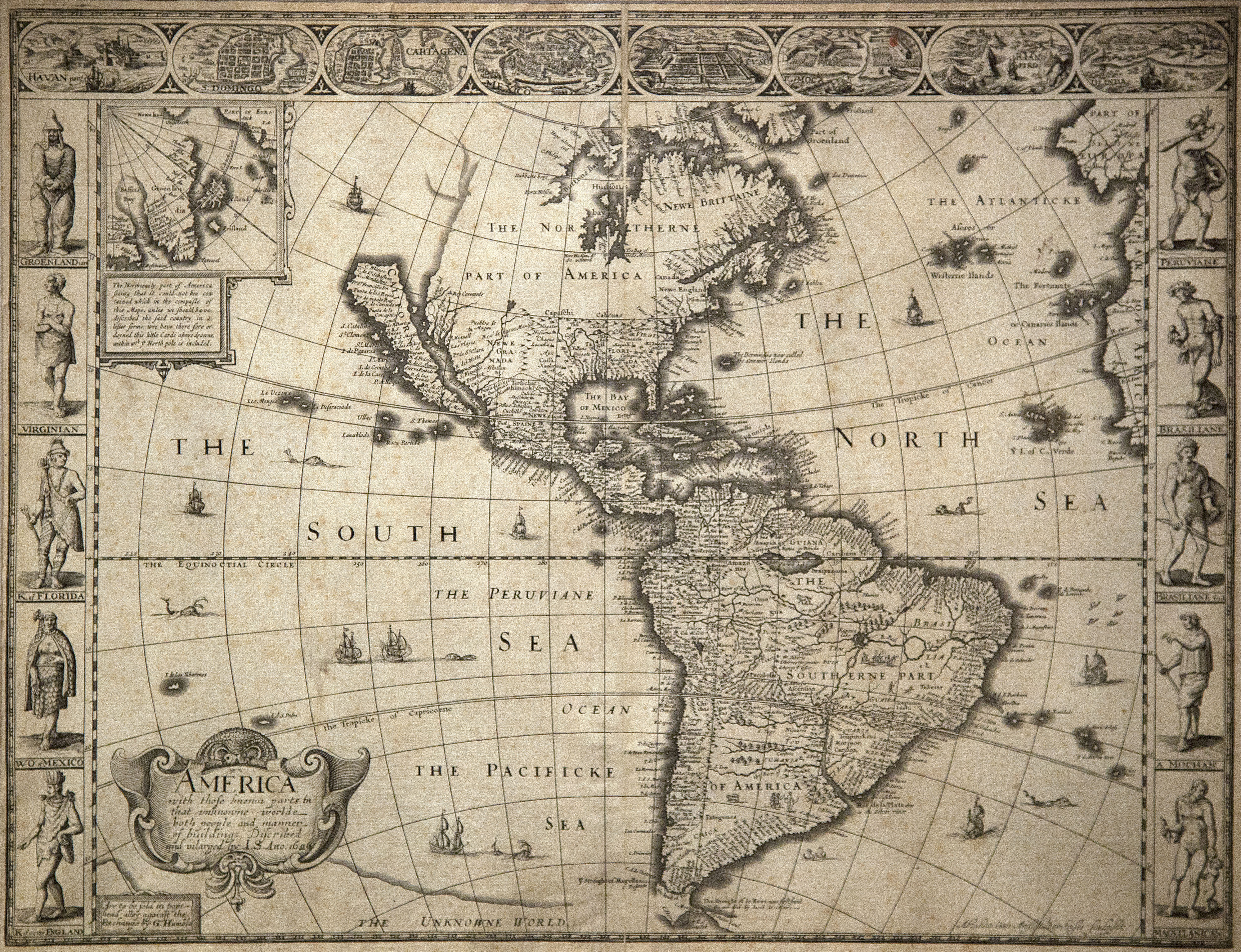 Map of Western Hemisphere Picture This