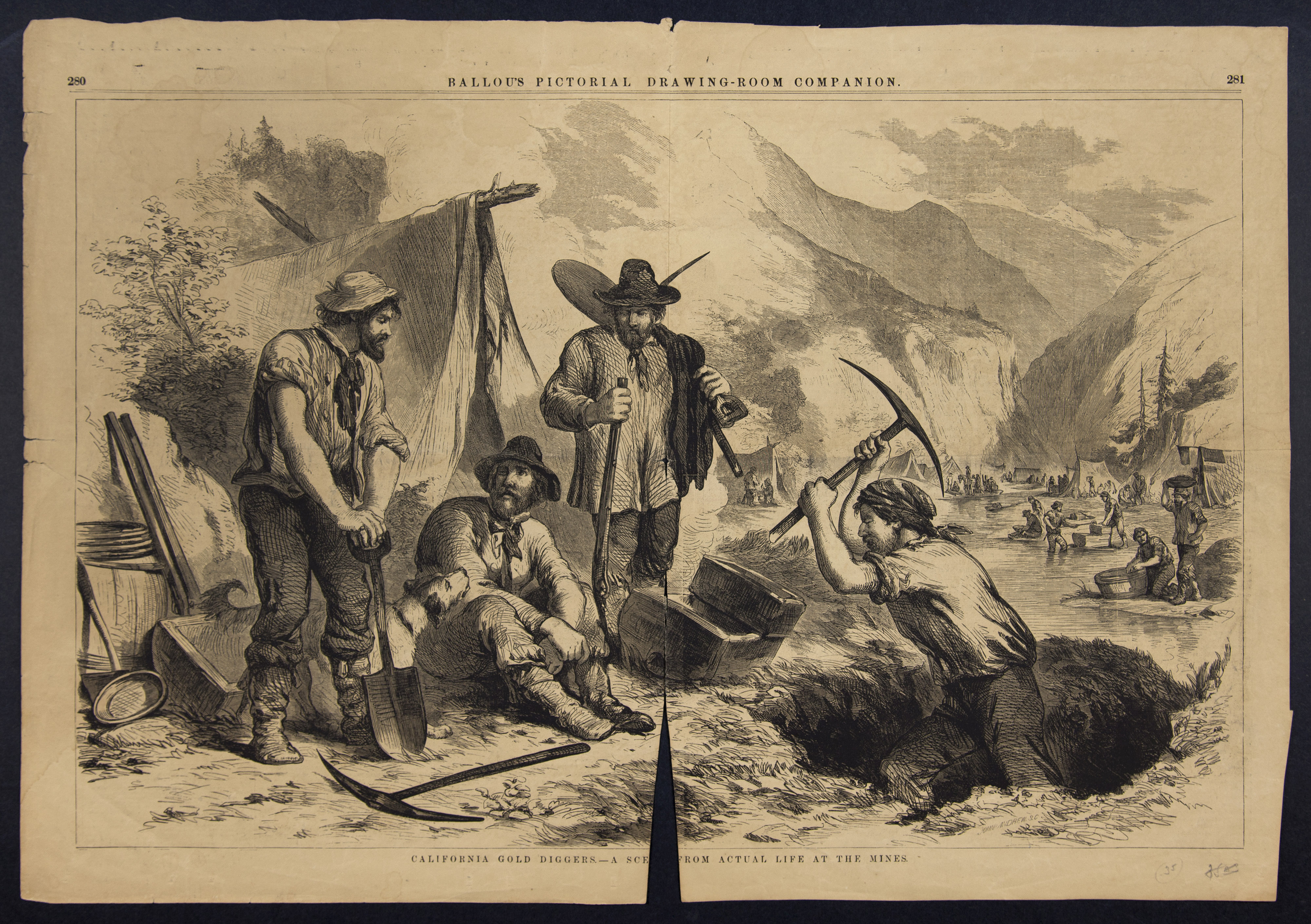 Gold Rush: 1848–1860 | Picture This
